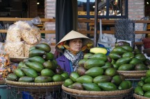 Marktfrau in Da Lat.