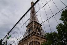 Paris, ein Hochsicherheitstrakt.
