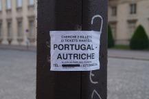 Sehr begehrt: Tickets für Österreich gegen Portugal.