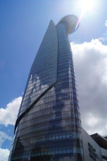 Der Bitexco Financial Tower in Ho Chi Minh City. Bei seiner Fertigstellung (2010) das höchste Gebäude Vietnams.