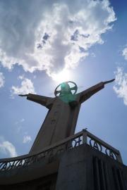 Die vierthöchste Christus-Statue der Welt.